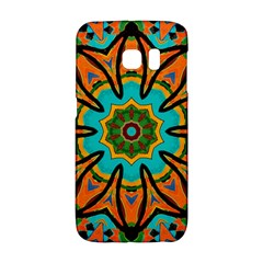 Color Abstract Pattern Structure Galaxy S6 Edge