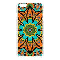 Color Abstract Pattern Structure Apple Seamless iPhone 6 Plus/6S Plus Case (Transparent)