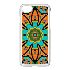 Color Abstract Pattern Structure Apple Iphone 7 Seamless Case (white)