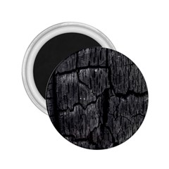 Coal Charred Tree Pore Black 2 25  Magnets