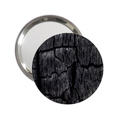 Coal Charred Tree Pore Black 2 25  Handbag Mirrors