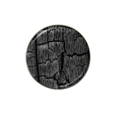 Coal Charred Tree Pore Black Hat Clip Ball Marker (10 Pack)