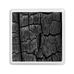 Coal Charred Tree Pore Black Memory Card Reader (Square)
