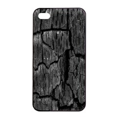Coal Charred Tree Pore Black Apple Iphone 4/4s Seamless Case (black)