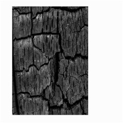 Coal Charred Tree Pore Black Large Garden Flag (two Sides)