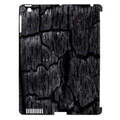 Coal Charred Tree Pore Black Apple Ipad 3/4 Hardshell Case (compatible With Smart Cover)