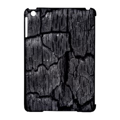 Coal Charred Tree Pore Black Apple Ipad Mini Hardshell Case (compatible With Smart Cover)