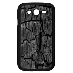 Coal Charred Tree Pore Black Samsung Galaxy Grand Duos I9082 Case (black)
