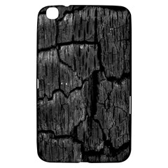 Coal Charred Tree Pore Black Samsung Galaxy Tab 3 (8 ) T3100 Hardshell Case