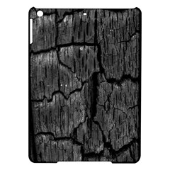 Coal Charred Tree Pore Black Ipad Air Hardshell Cases