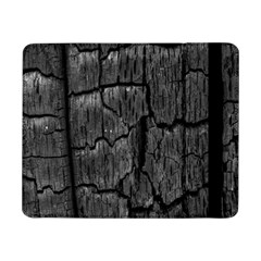 Coal Charred Tree Pore Black Samsung Galaxy Tab Pro 8 4  Flip Case