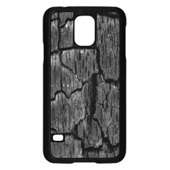 Coal Charred Tree Pore Black Samsung Galaxy S5 Case (black)