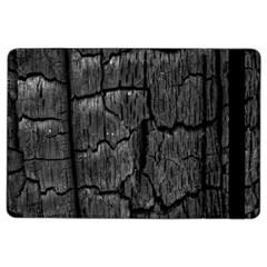 Coal Charred Tree Pore Black Ipad Air 2 Flip