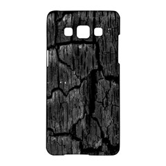 Coal Charred Tree Pore Black Samsung Galaxy A5 Hardshell Case
