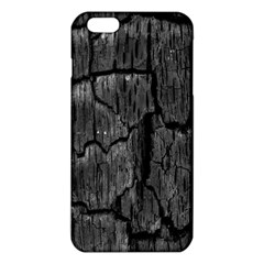 Coal Charred Tree Pore Black Iphone 6 Plus/6s Plus Tpu Case