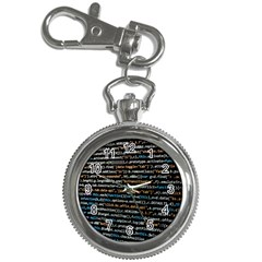 Close Up Code Coding Computer Key Chain Watches