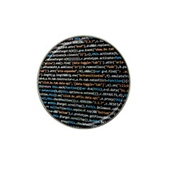 Close Up Code Coding Computer Hat Clip Ball Marker (10 Pack)