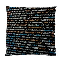 Close Up Code Coding Computer Standard Cushion Case (two Sides)