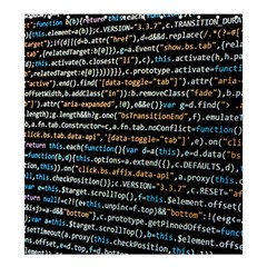 Close Up Code Coding Computer Shower Curtain 66  X 72  (large)
