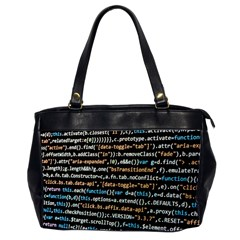 Close Up Code Coding Computer Office Handbags (2 Sides)
