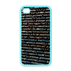 Close Up Code Coding Computer Apple Iphone 4 Case (color)