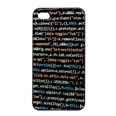 Close Up Code Coding Computer Apple Iphone 4/4s Seamless Case (black)