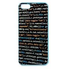 Close Up Code Coding Computer Apple Seamless Iphone 5 Case (color)