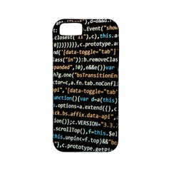 Close Up Code Coding Computer Apple Iphone 5 Classic Hardshell Case (pc+silicone)