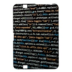 Close Up Code Coding Computer Kindle Fire Hd 8 9