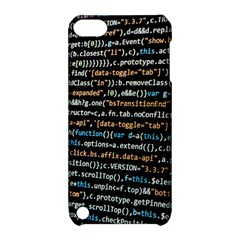 Close Up Code Coding Computer Apple Ipod Touch 5 Hardshell Case With Stand