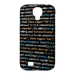 Close Up Code Coding Computer Samsung Galaxy S4 Classic Hardshell Case (pc+silicone)