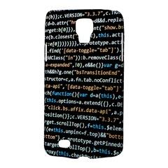 Close Up Code Coding Computer Galaxy S4 Active