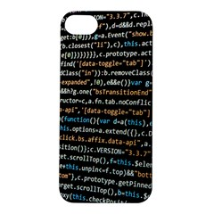 Close Up Code Coding Computer Apple Iphone 5s/ Se Hardshell Case