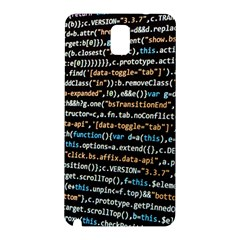 Close Up Code Coding Computer Samsung Galaxy Note 3 N9005 Hardshell Back Case