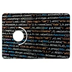 Close Up Code Coding Computer Kindle Fire Hdx Flip 360 Case