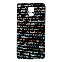 Close Up Code Coding Computer Samsung Galaxy S5 Back Case (white)