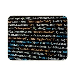 Close Up Code Coding Computer Double Sided Flano Blanket (mini)
