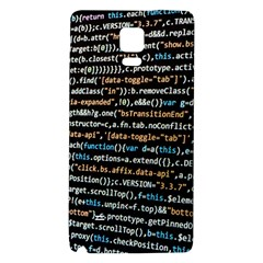 Close Up Code Coding Computer Galaxy Note 4 Back Case