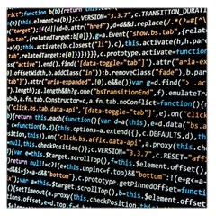 Close Up Code Coding Computer Large Satin Scarf (square)