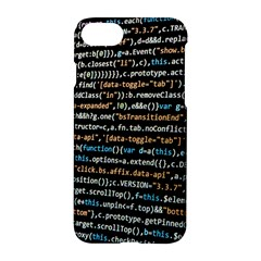 Close Up Code Coding Computer Apple Iphone 7 Hardshell Case