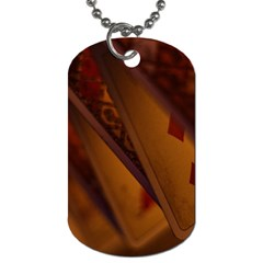 Card Game Mood The Tarot Dog Tag (two Sides)