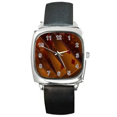 Card Game Mood The Tarot Square Metal Watch