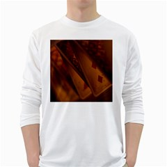 Card Game Mood The Tarot White Long Sleeve T Shirts