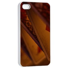 Card Game Mood The Tarot Apple Iphone 4/4s Seamless Case (white)