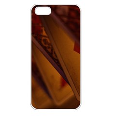 Card Game Mood The Tarot Apple Iphone 5 Seamless Case (white)