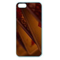 Card Game Mood The Tarot Apple Seamless Iphone 5 Case (color)