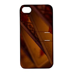 Card Game Mood The Tarot Apple Iphone 4/4s Hardshell Case With Stand