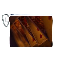 Card Game Mood The Tarot Canvas Cosmetic Bag (l)