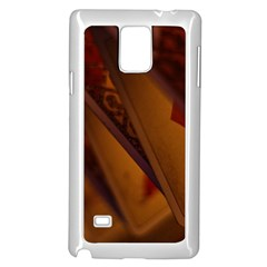 Card Game Mood The Tarot Samsung Galaxy Note 4 Case (white)
