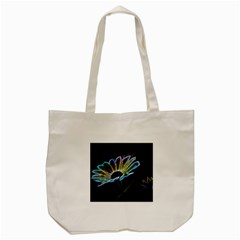 Flower Pattern Design Abstract Background Tote Bag (cream)
